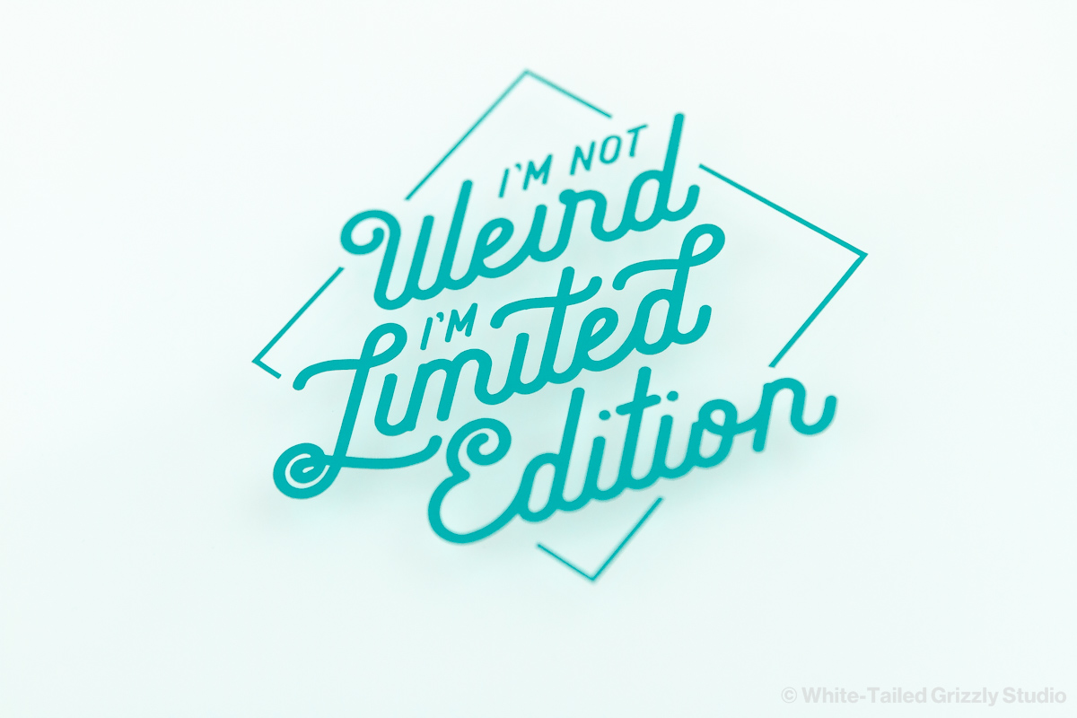 I'm Limited Edition Decal